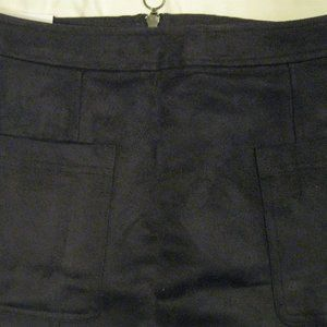 Skirts - NWT OLD NAVY FAUX SUEDE BLACK MINI SKIRT SZ 4*frsh